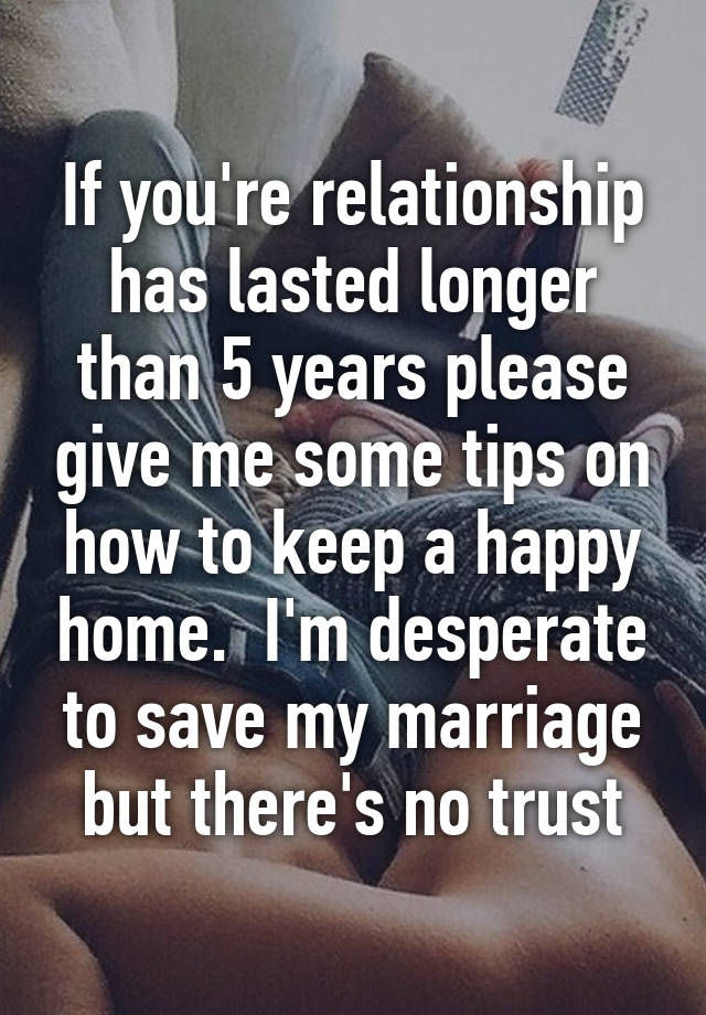 desperate to save my marriage