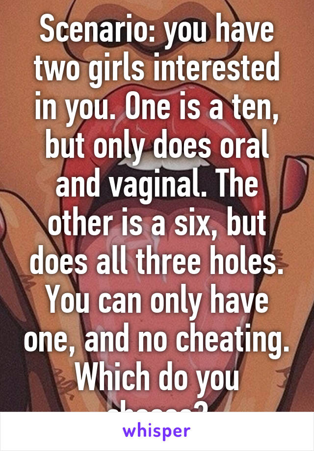 Think, that girls with two vaginal holes pics will