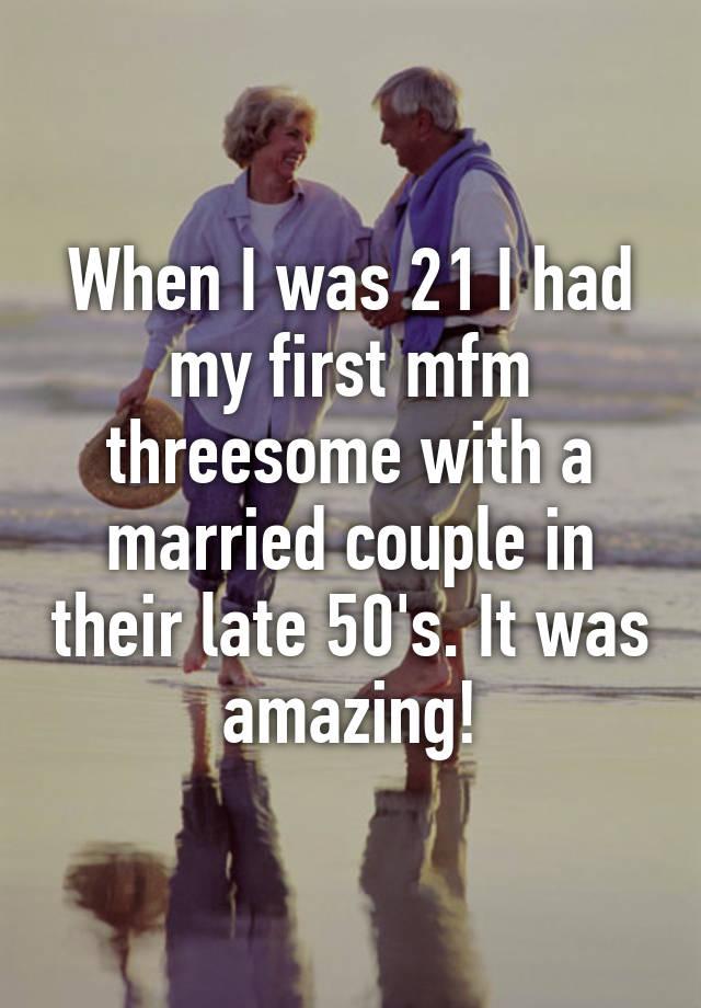Married mfm threesomes