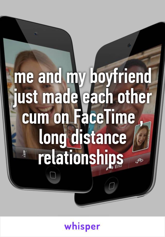Facetime long distance relationship