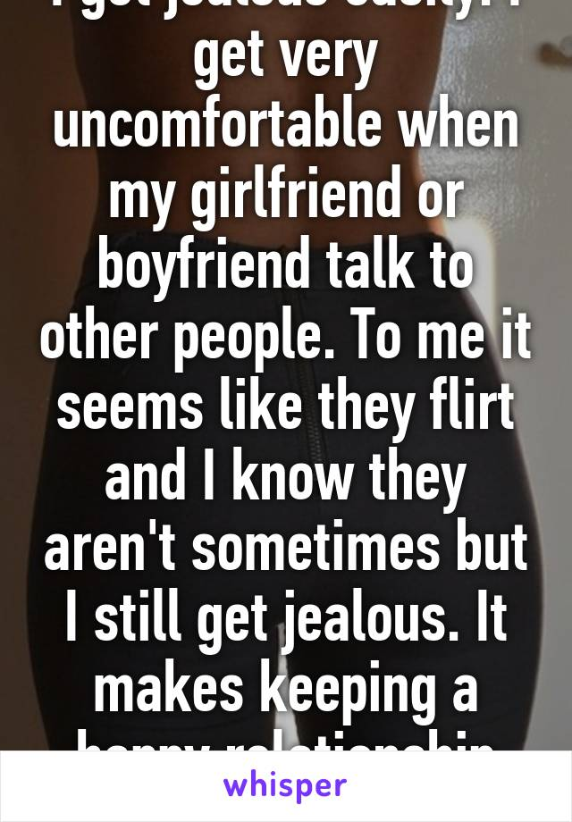 Why Do Girls Get Jealous So Easily