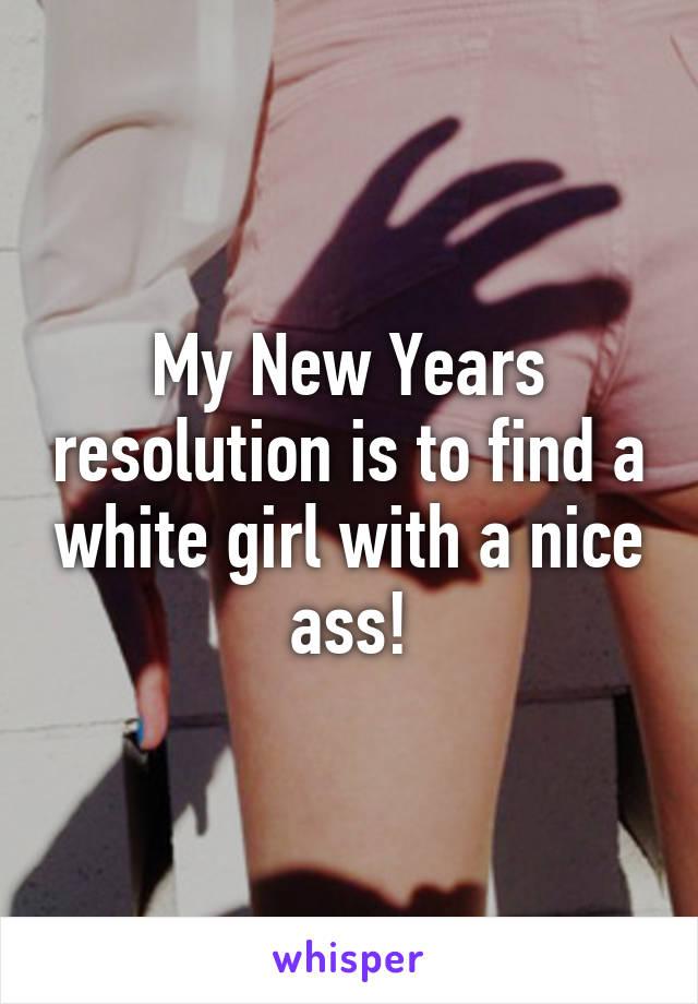 White girl nice ass