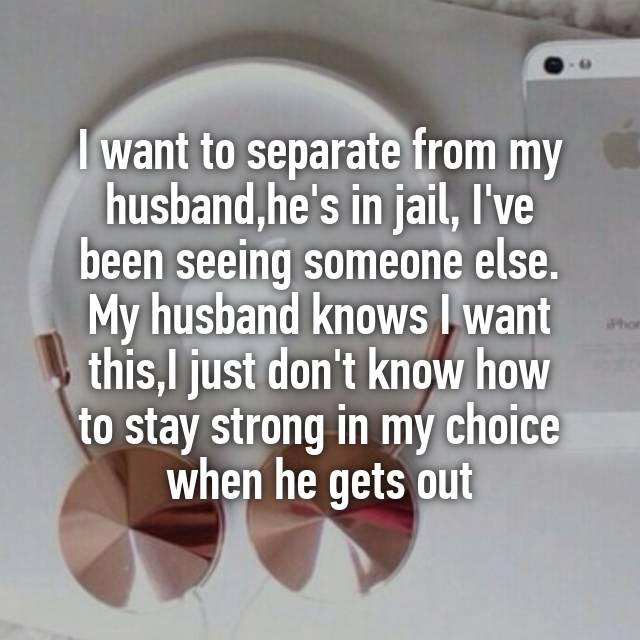 I want to separate from my husband