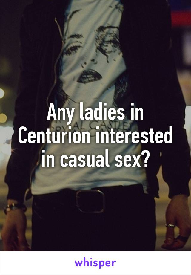 Sex in centurion