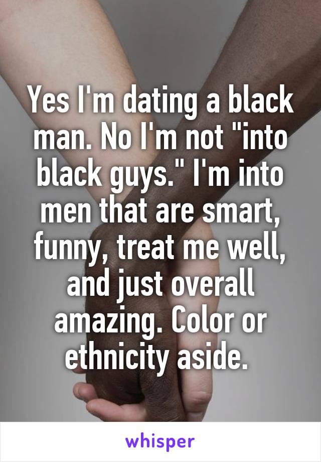 dating black guys