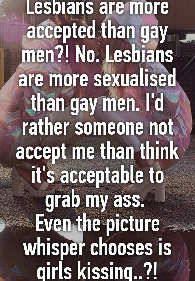 You Lesbian grabbing girls ass