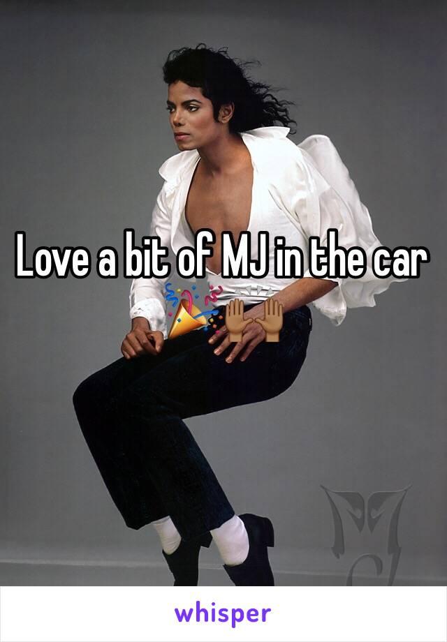 Love a bit of MJ in the car 🎉🙌🏾