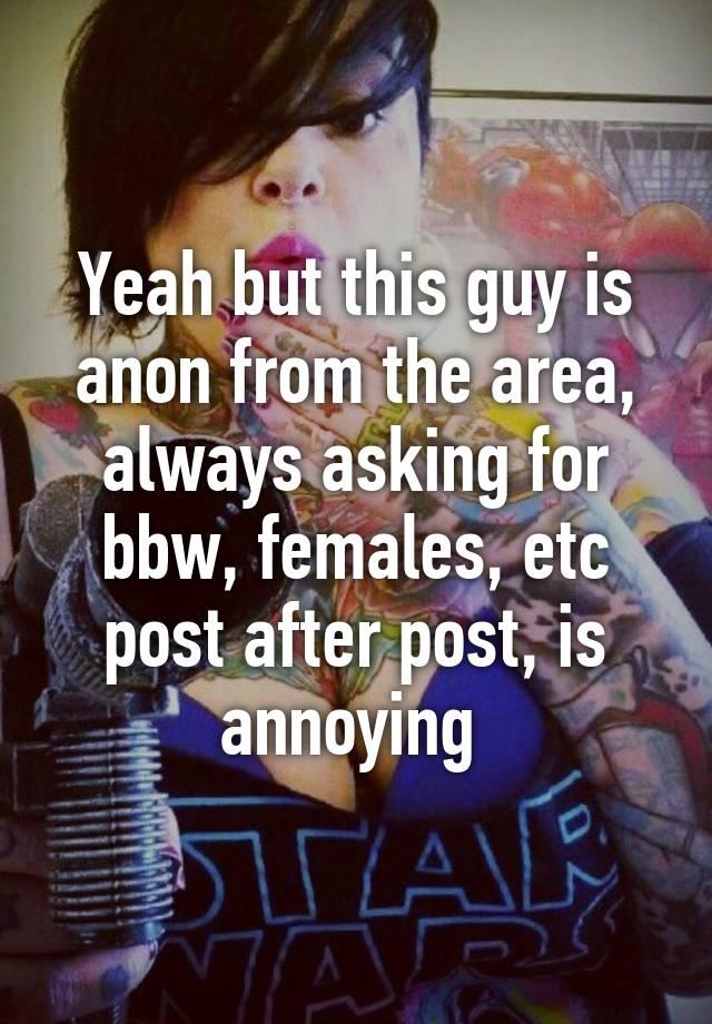 Anon bbw