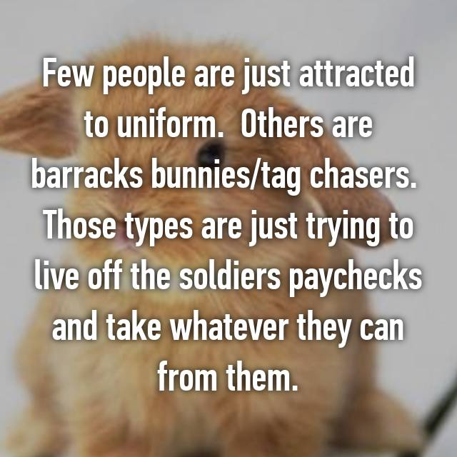 Barracks bunnies