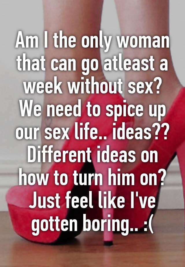 Sex ideas to turn him on