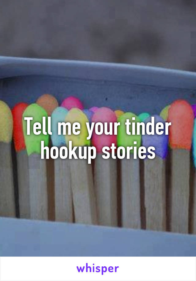 match hookup stories