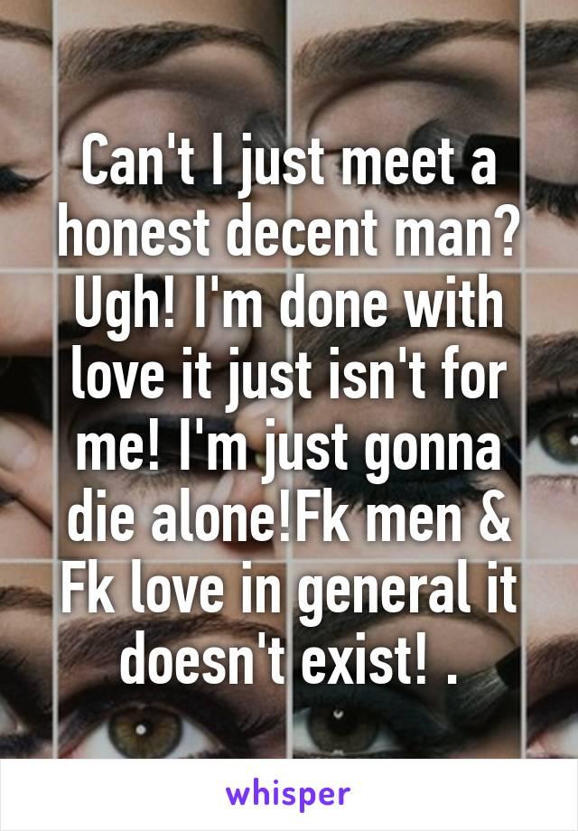 Where to meet decent men
