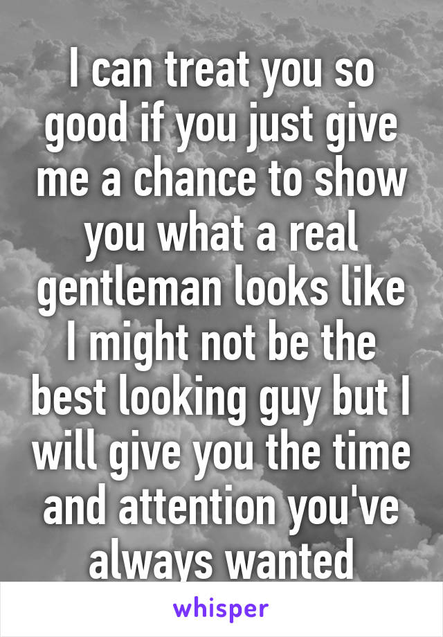 if you give me a chance i would take it