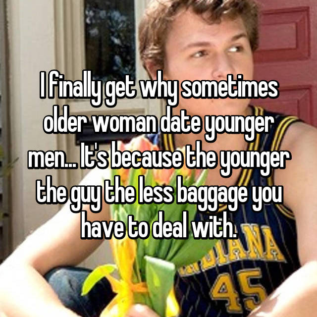 I dating a younger guy