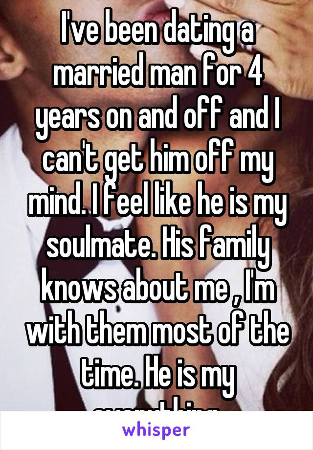 dating a married man for 3 years