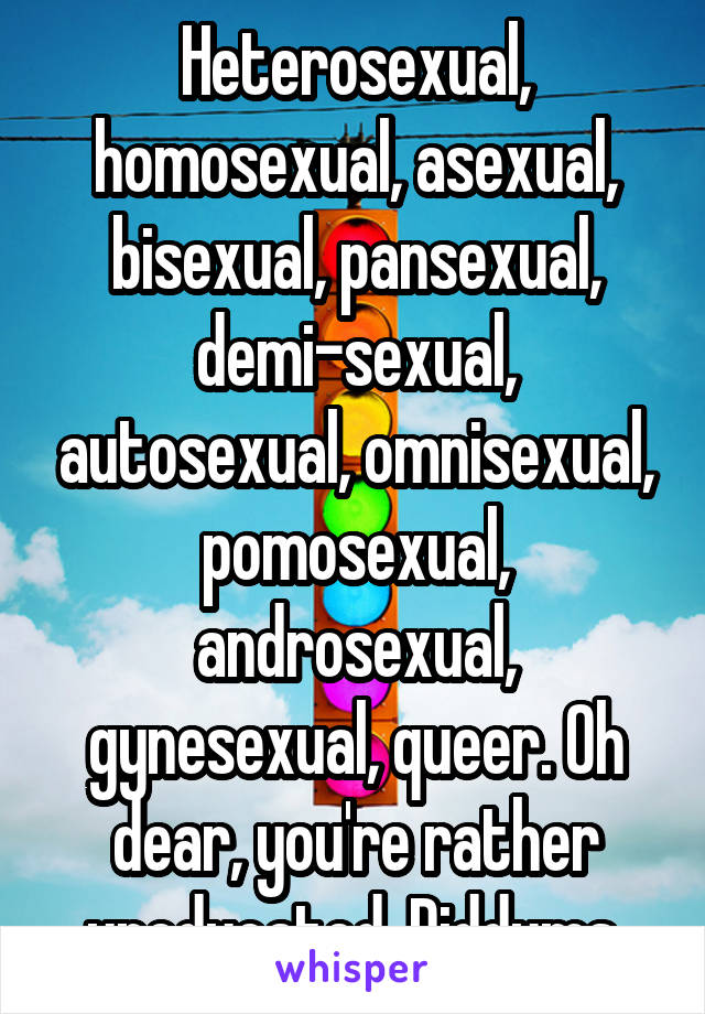 What is pansexual and demisexual