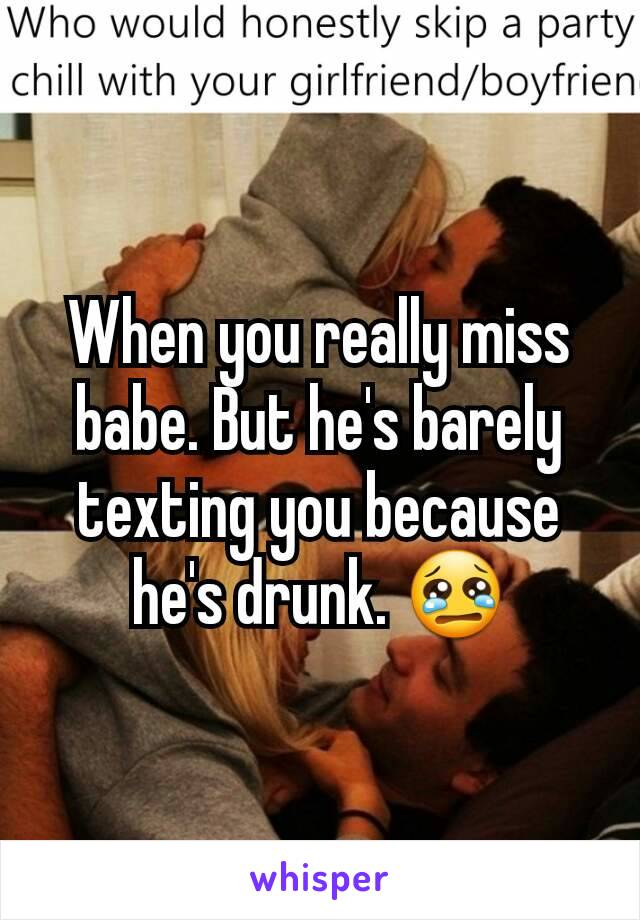miss texting you
