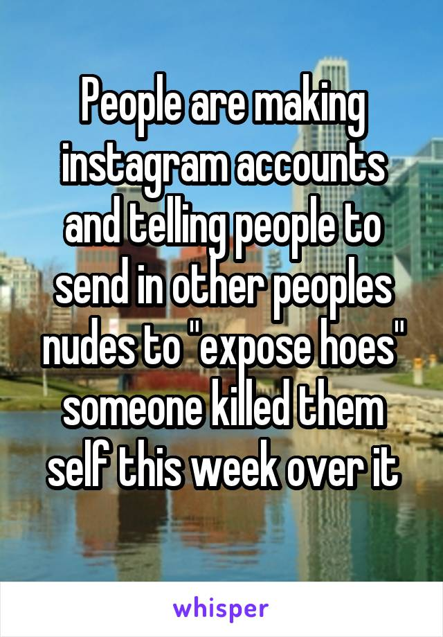 Instagram accounts that will send nudes