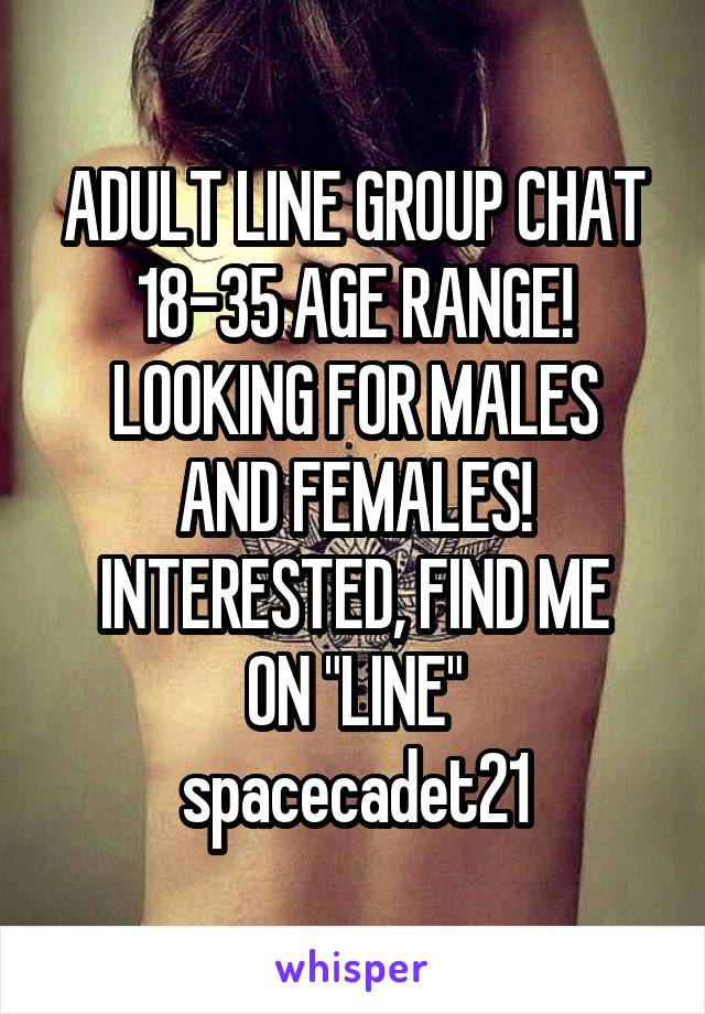 Adult chat group