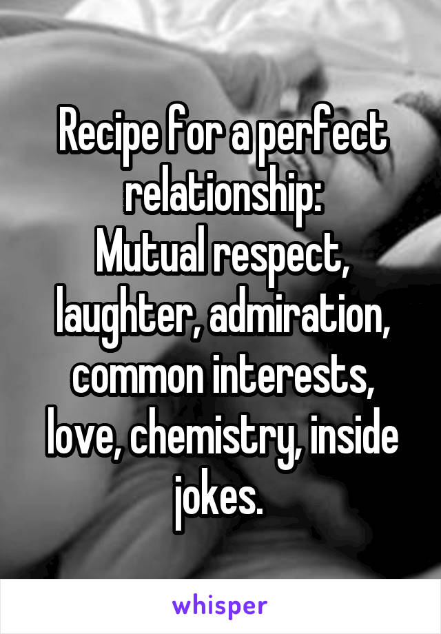 What is mutual respect in a relationship