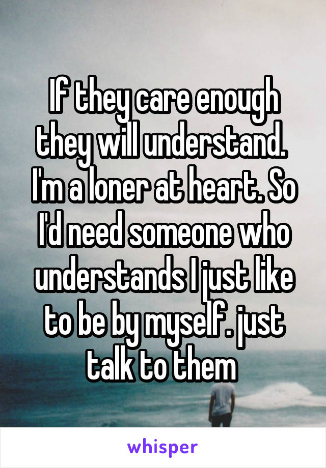 loner at heart means