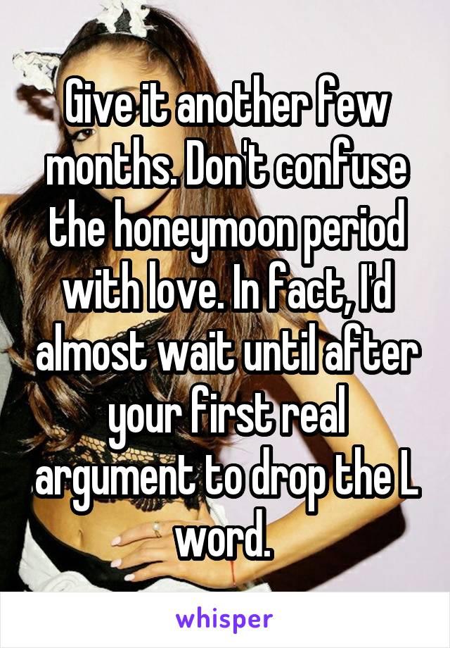 big argument with girlfriend
