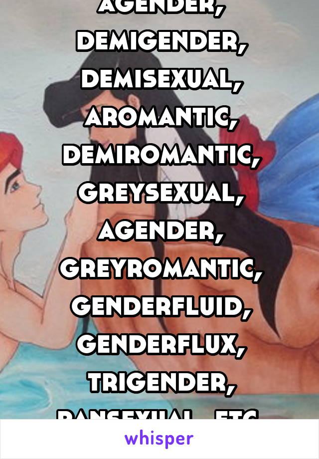 Sexuality flowchart