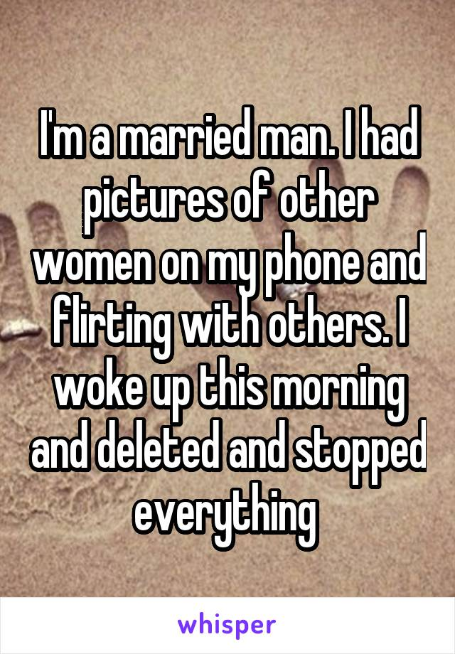 Why woman flirts with married man