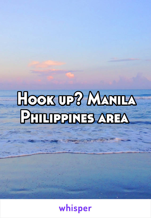Philippines hook up