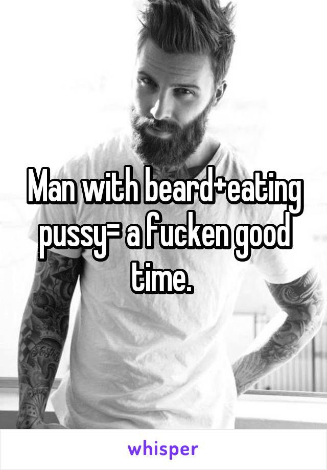 Pussy good eating Men