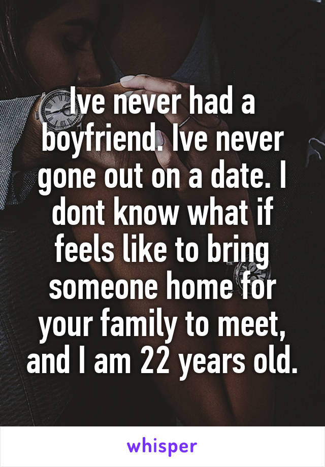Im dating someone ive never met
