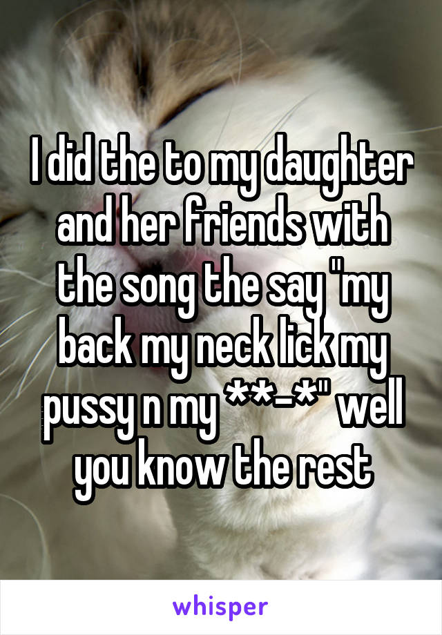 Thing better Lick my pussy somg super