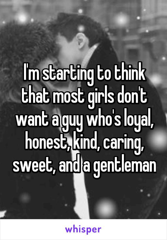 Girls don t like gentlemen