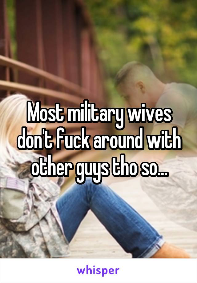 Wives Who Fuck Around