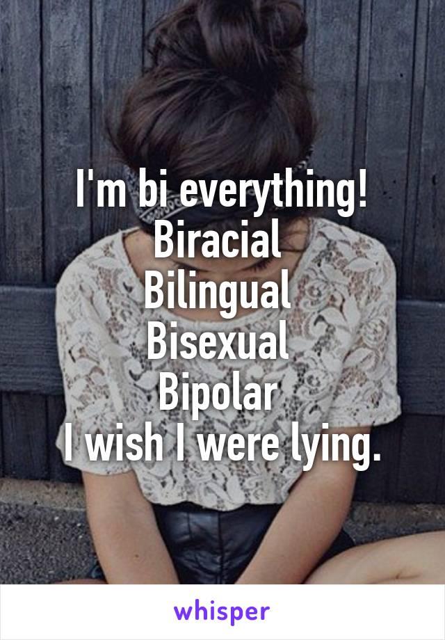 Bipolar and bisexual
