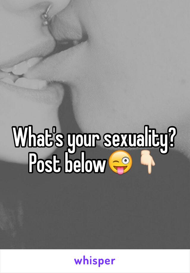 Post sexuality