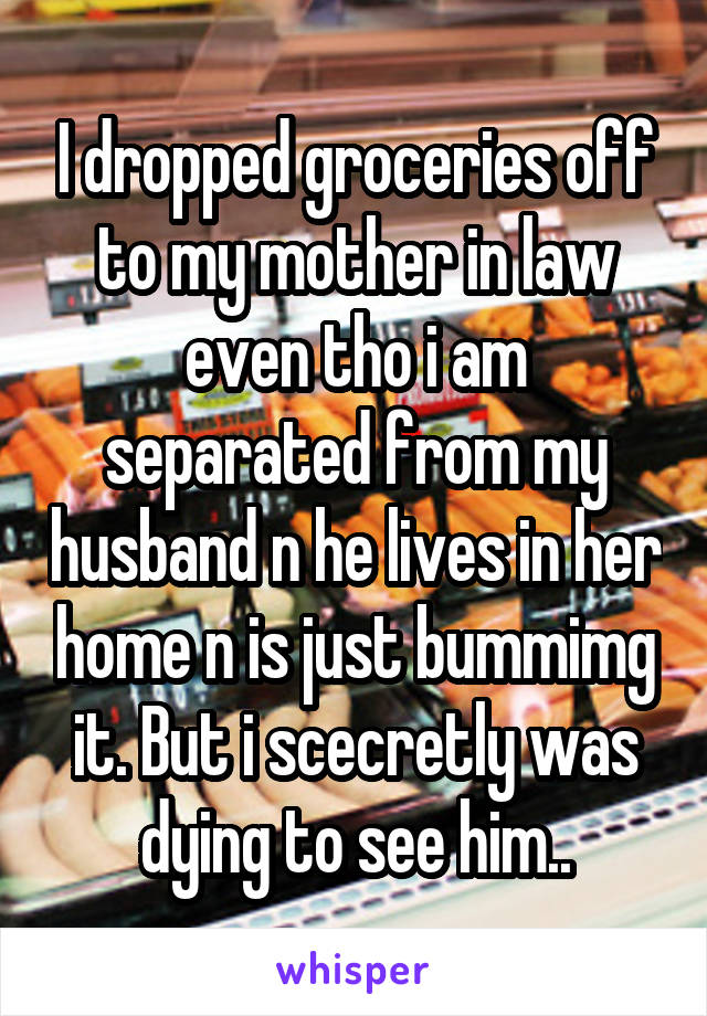 I am separated from my husband