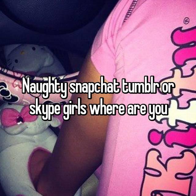 Naughty snapchat tumblr