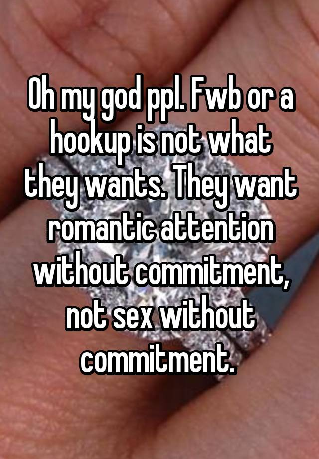 Gods point of view on hookup