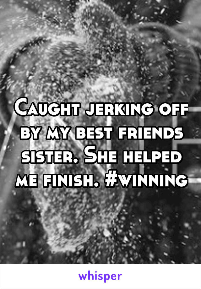 Jerk off using water