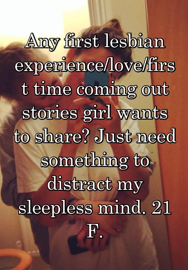 time lesbian stories sex Girl first