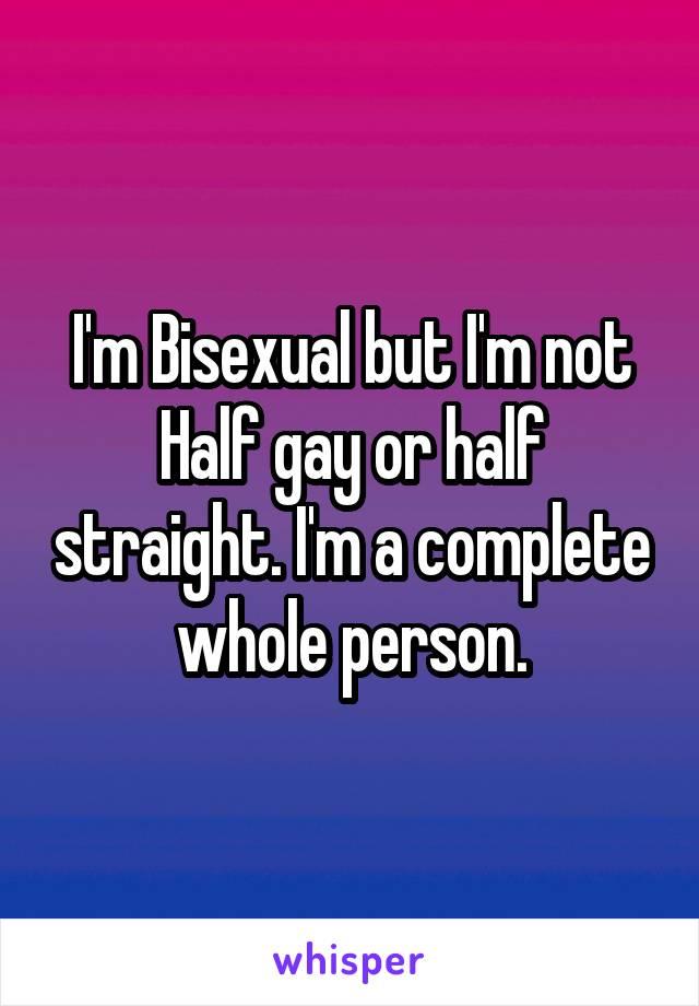 Полные бисексуалы