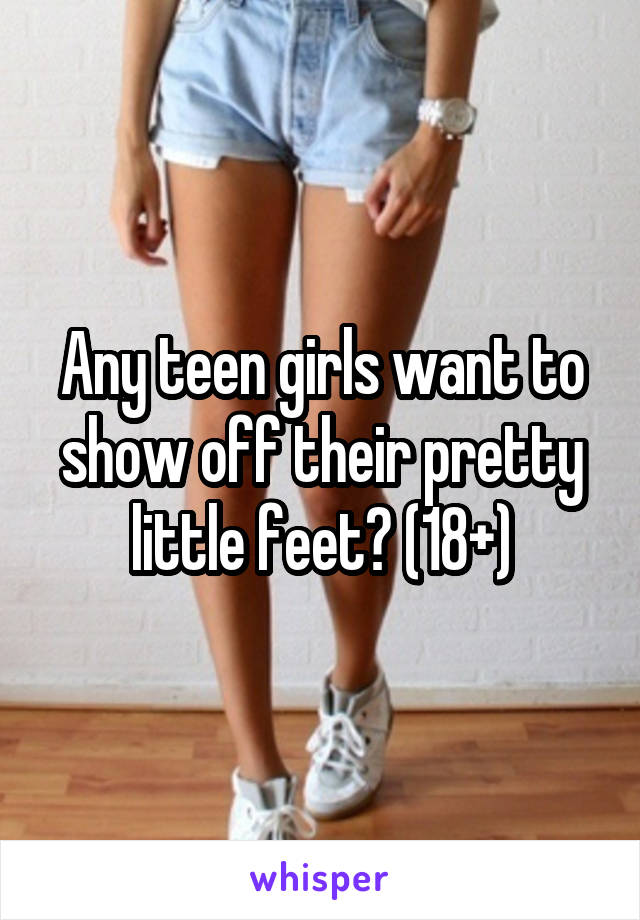 girls feet young teen Pretty