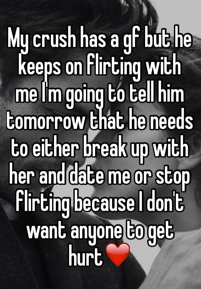 Flirting Like Crazy Then Going Completely Cold!