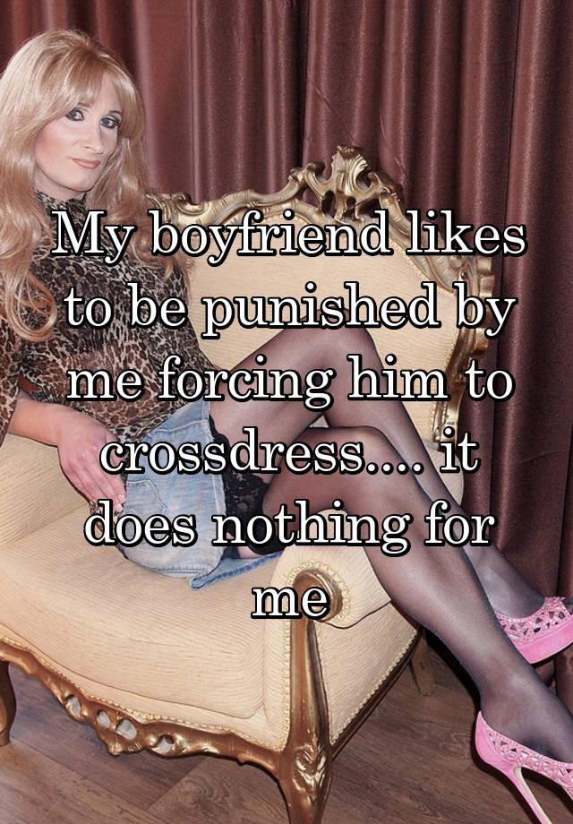 Wife Forced Me To Crossdress