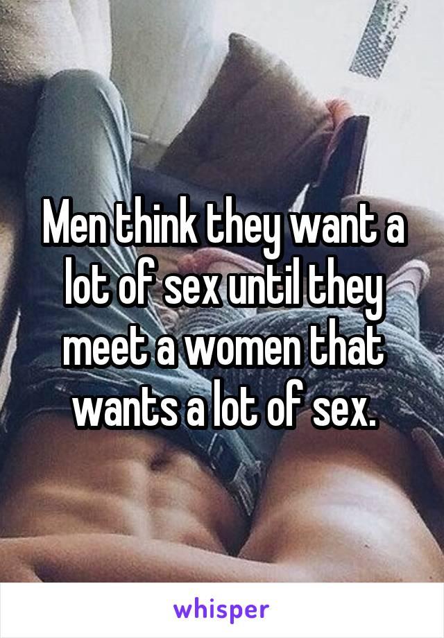 Women who want to meet men