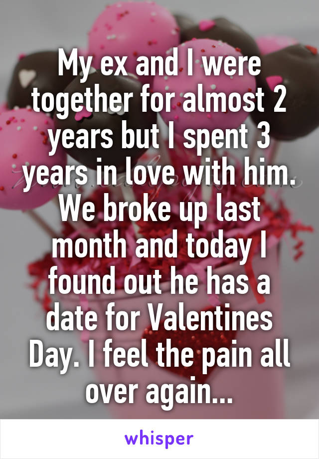 how long does the pain of a break up last