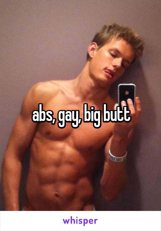Big butt gay