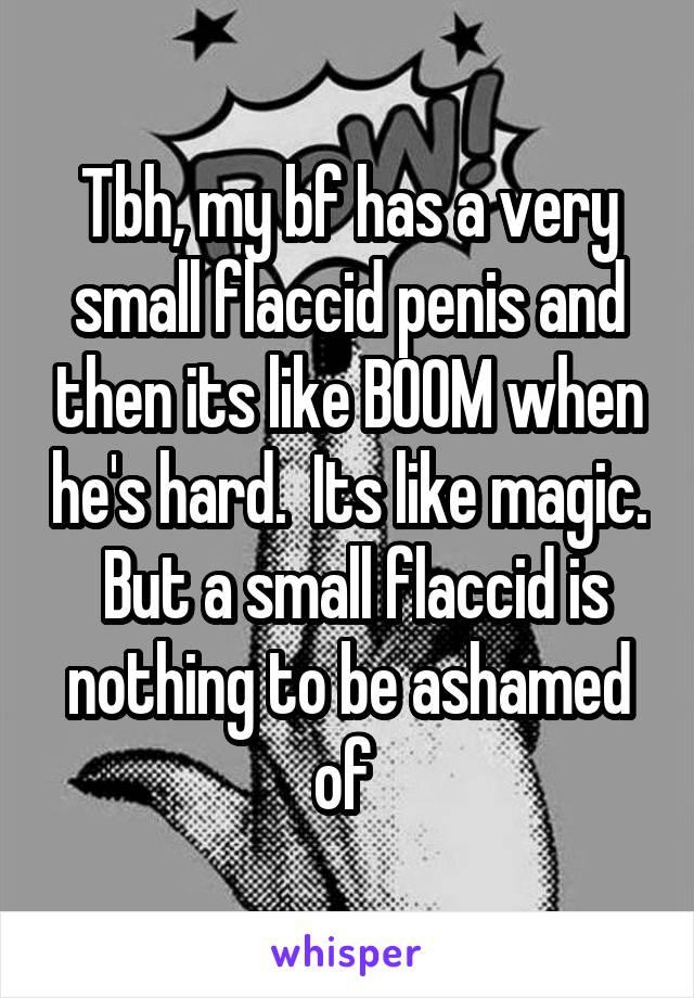 small flaccid penis