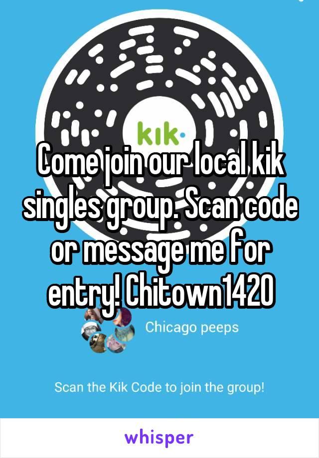Kik local singles